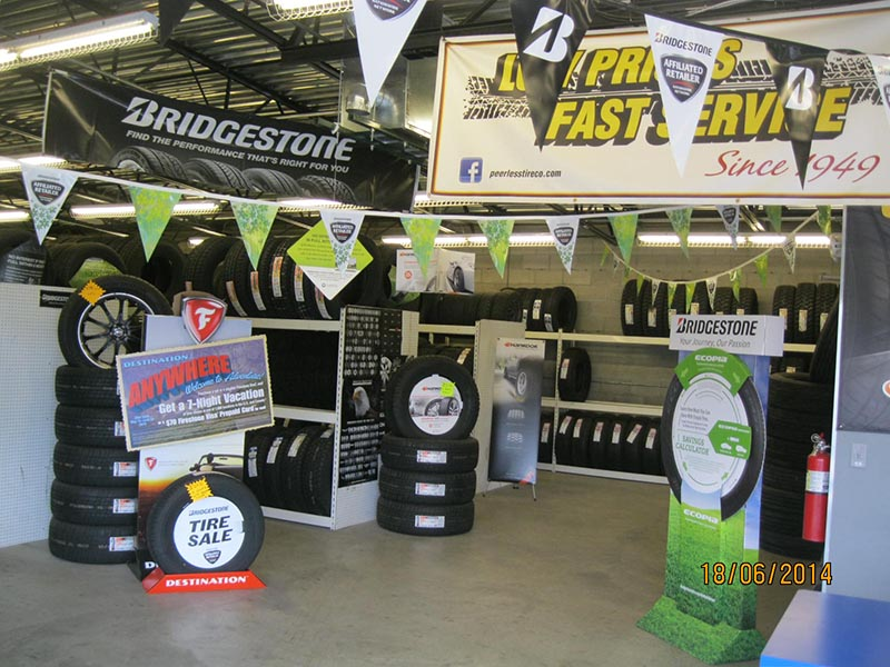 Albuquerque tire store - Shop Interior
