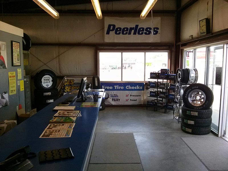 Tire Shop in Wyoming - South Cheyenne Interior