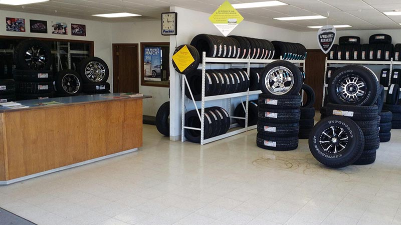 Kansas Tire Store - Emporia Location Interior