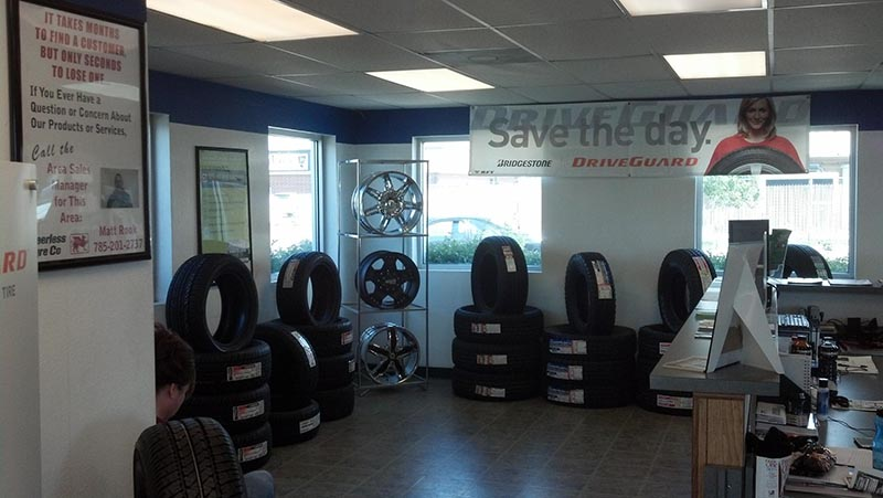 Kansas Tire Shop - Garden City Interior
