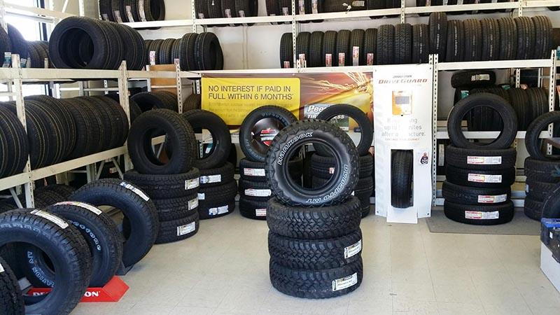 South Dakota Tire Store - Rapid City West Interior