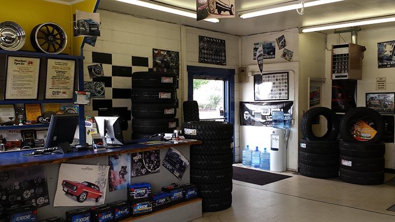 New Colorado Tires - Thornton tire store interior