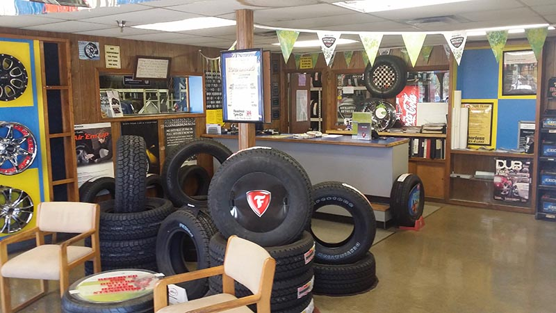 Texas Tire Shop - Western Amarillo Interior