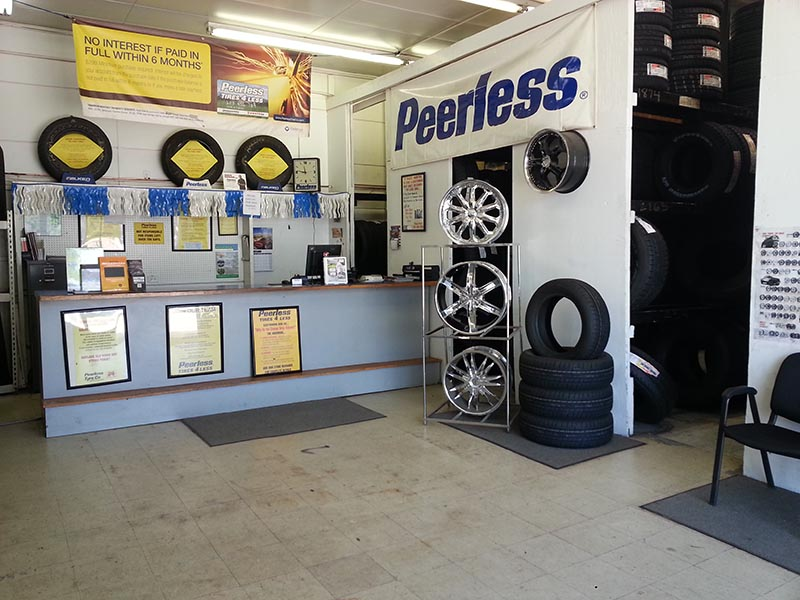 Truck Tires In East Colfax Denver Co Tire Shop Peerless Tires