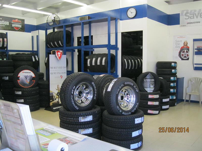 New Mexico Tire Store - Farmington Interior
