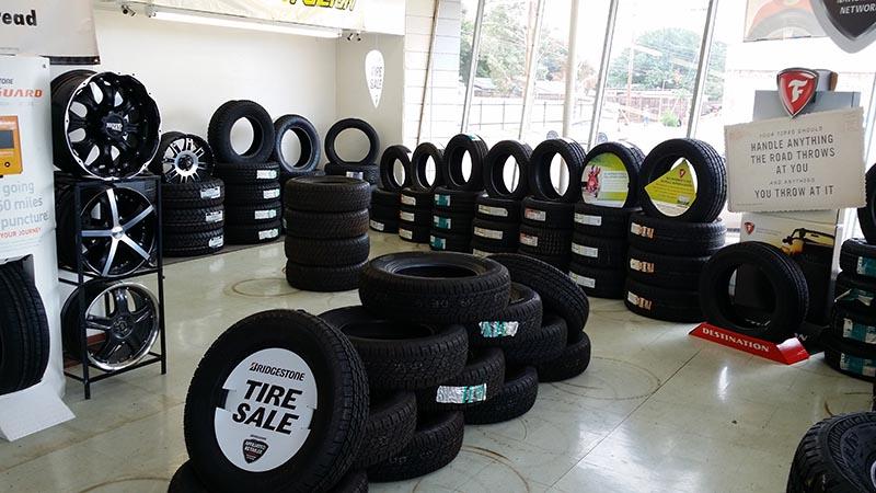 Texas Tire Shop - Lubbock Interior