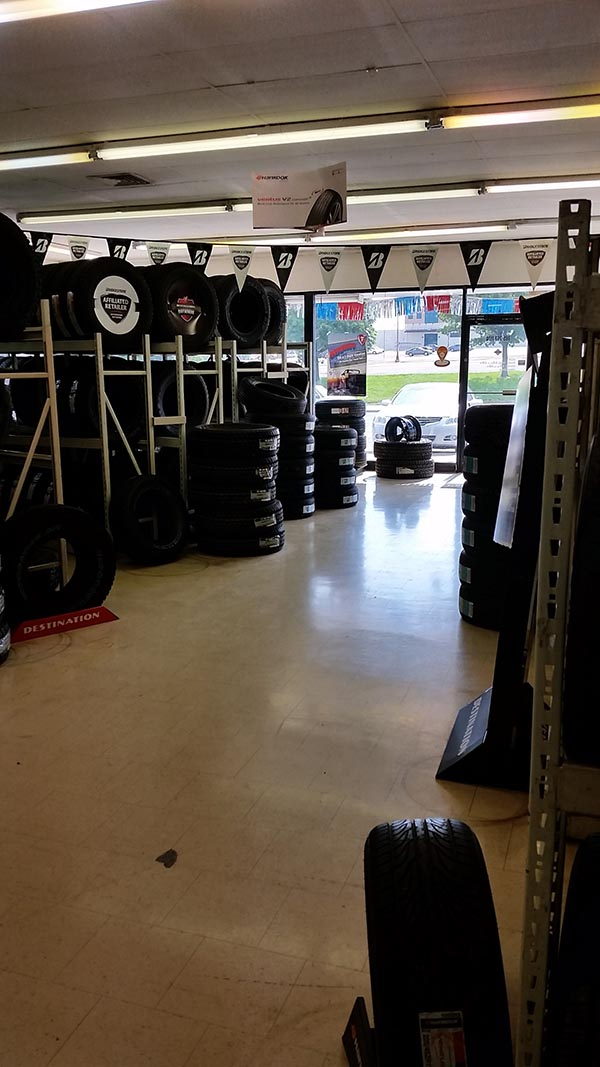 New Tires in Southwest Topeka - Topeka Blvd Interior