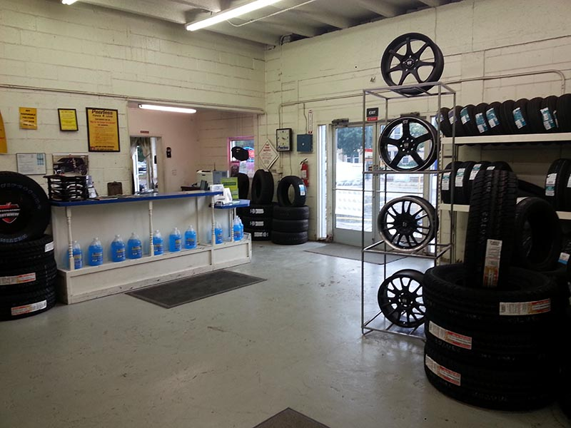 New tires in Colorado - Westminster Shop Interior